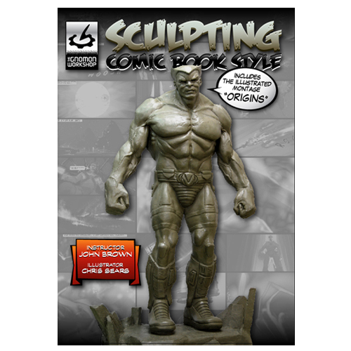 "John Brown Sculpture Kit with ""Sculpting Comic Book Style"" DVD Tutorial-135"