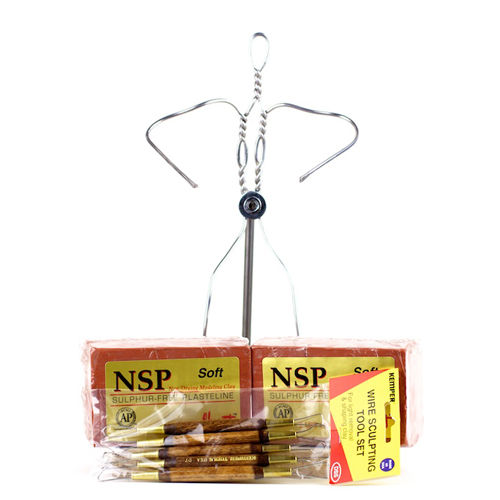 Quick Start Clay Sculpting Kit - NSP Soft Brown-0