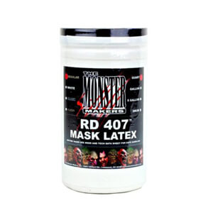 RD-407 Halloween White Latex for spfx masks, props, and prosthetics
