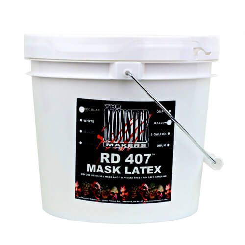 RD-407 bat black Latex for spfx masks, props, and prosthetics