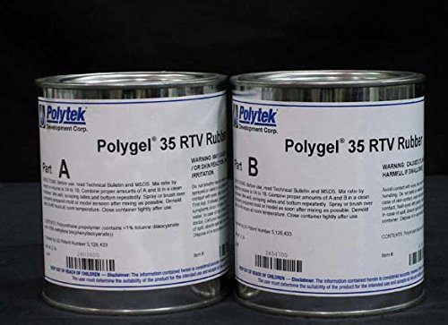 Polytek Polygel 35 Brush-On Rubber (4 lbs)-0