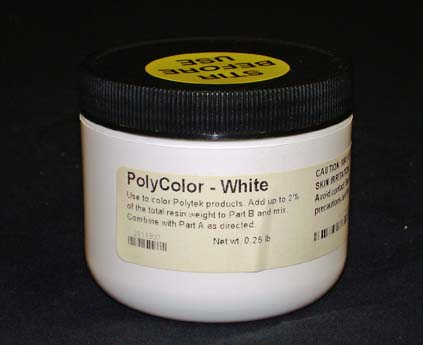Polycolors - Liquid Dye, White- 4 oz.-0