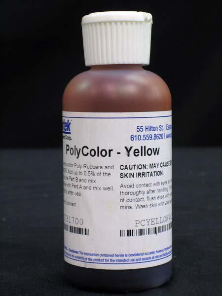 Polycolors - Liquid Dye, Yellow- 4 oz.-0