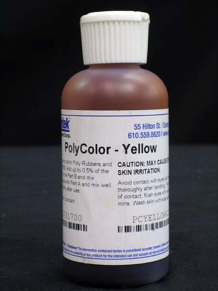 Polycolors - Liquid Dye, Yellow- 4 oz.-0