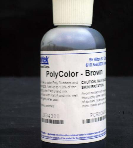 Polycolors - Liquid Dye, Brown- 4 oz.-0