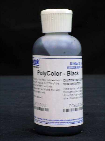 Polycolors - Liquid Dye, Black- 4 oz.-0