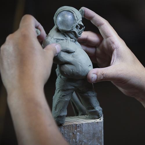 "Sculpting Kit - Jordu Schell's ""How to Sculpt Character Maquettes""-958"