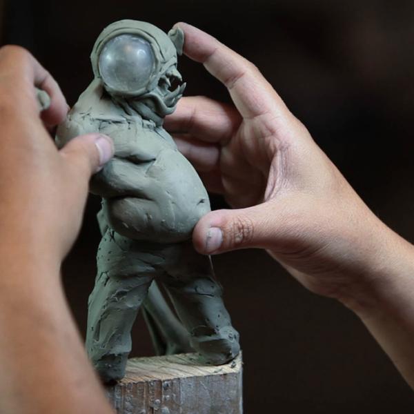 "Sculpting Kit - Jordu Schell's ""How to Sculpt Character Maquettes""-964"