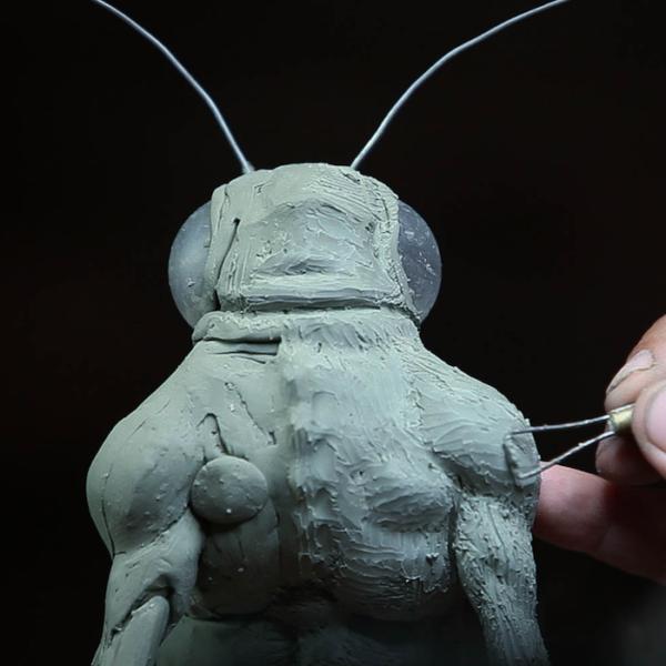 "Sculpting Kit - Jordu Schell's ""How to Sculpt Character Maquettes""-963"