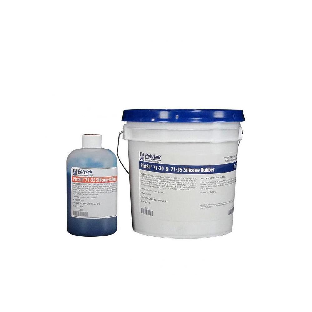 Polytek PlatSil 71-35 Platinum Silicone Rubber 9 lb