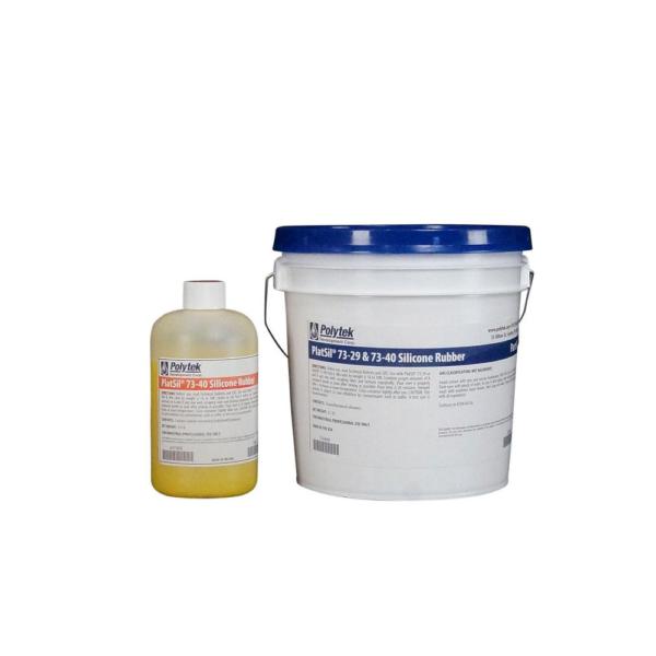 Polytek PlatSil 73-40 Platinum Silicone Rubber 9lb