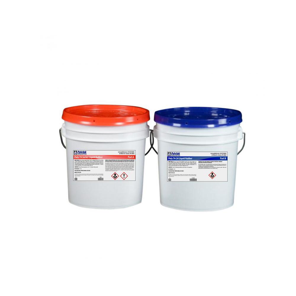 Polytek Poly 74-24 Liquid Polyurethane Rubber 16lb