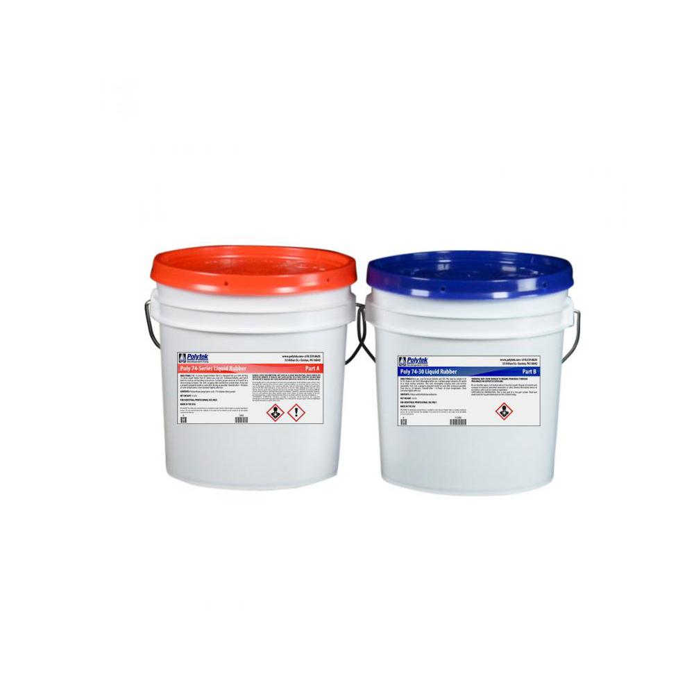 Polytek Poly 74-30 Liquid Polyurethane Rubber 16lb