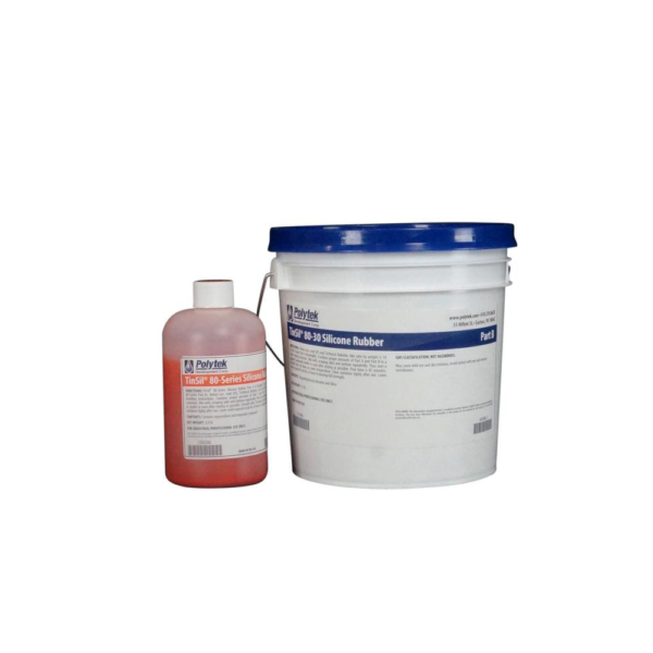 Polytek TinSil 80-30 Silicone Rubber 9 lb