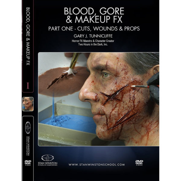Stan Winston School DVD - Blood, Gore and Makeup Effects Part 1 - Cuts, Wounds, Props – Gary J. Tunnicliffe