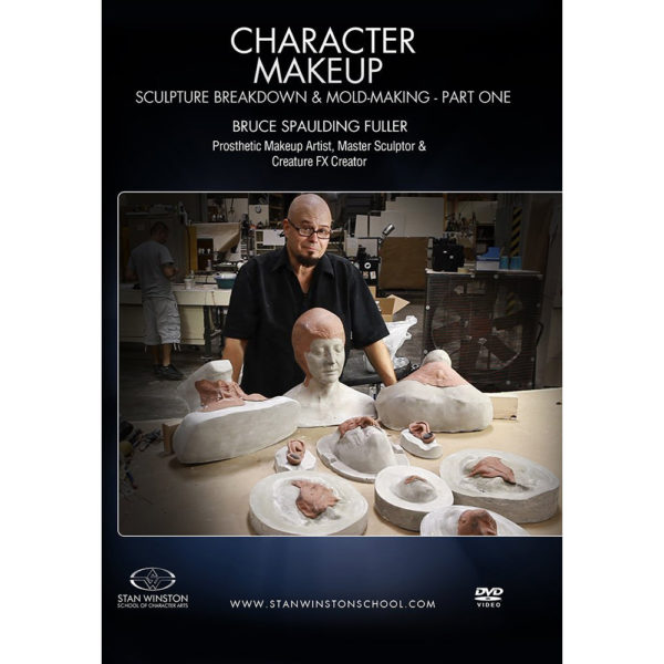 Stan Winston School DVD – Character Makeup – Sculpture Breakdown and Mold Making – Part 1 – Bruce Spaulding Fuller