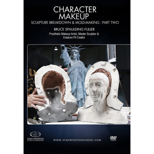 Stan Winston School DVD – Character Makeup – Sculpture Breakdown and Mold Making – Part 2 – Bruce Spaulding Fuller