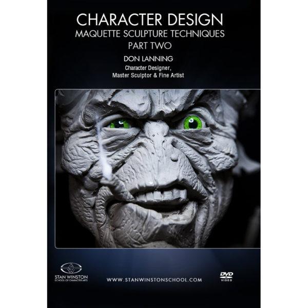 Stan Winston School DVD – Character Design – Part Two: Alien Maquette Sculpture