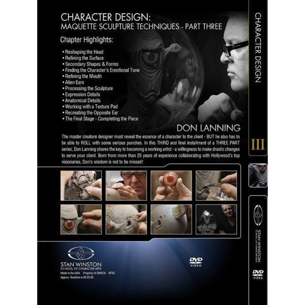 Stan Winston School DVD - Character Design – Part Three: Space Creature Maquette Sculpture