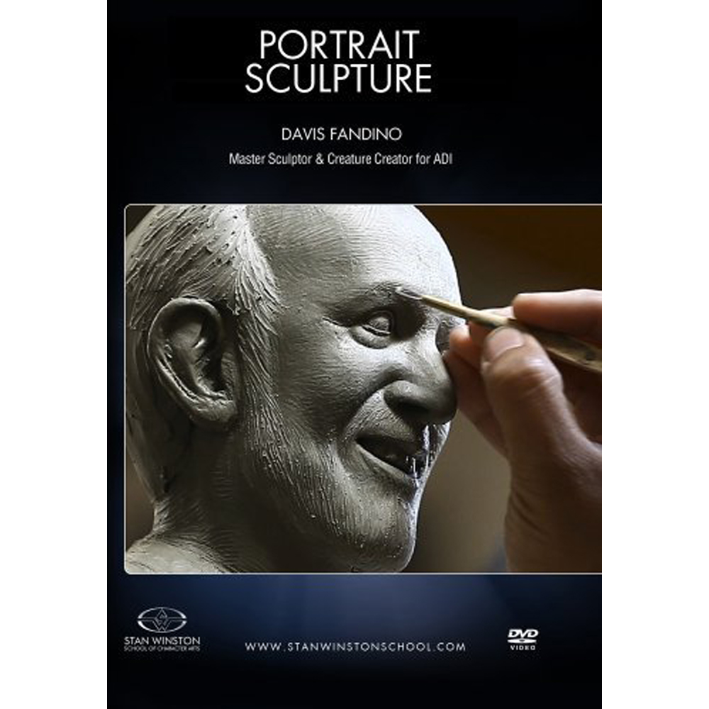 Stan Winston School DVD – How to Sculpt a Portrait – Davis Fandino