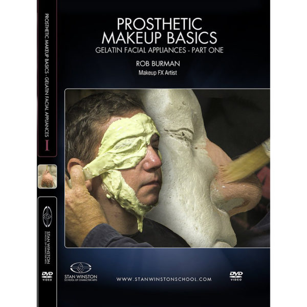 Stan Winston School DVD – Gelatin Facial Appliances – Part 1 – Rob Burman