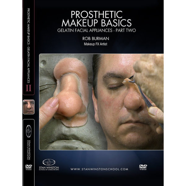 Stan Winston School DVD – Gelatin Facial Appliances – Part 2 – Rob Burman