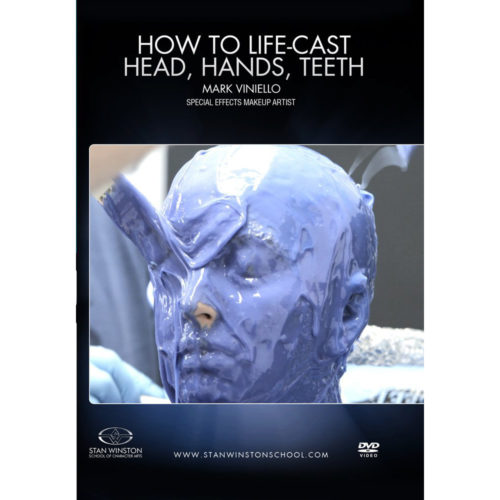 Stan Winston School DVD – How to Lifecast – Head, Hands, and Teeth – Mark Viniello