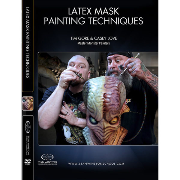 Stan Winston School DVD – Latex Mask Painting Techniques – Tim Gore and Casey Love