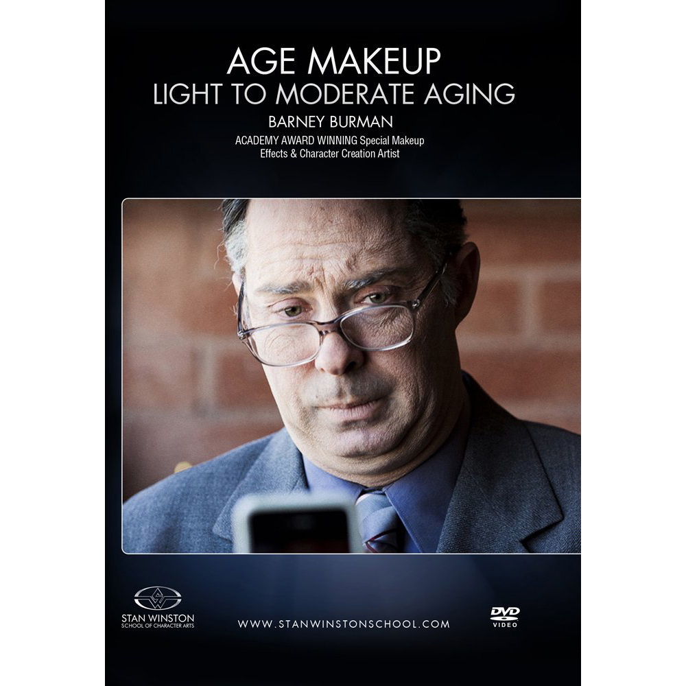 Stan Winston School DVD – Age Makeup – Light to Moderate Aging – Barney Burman