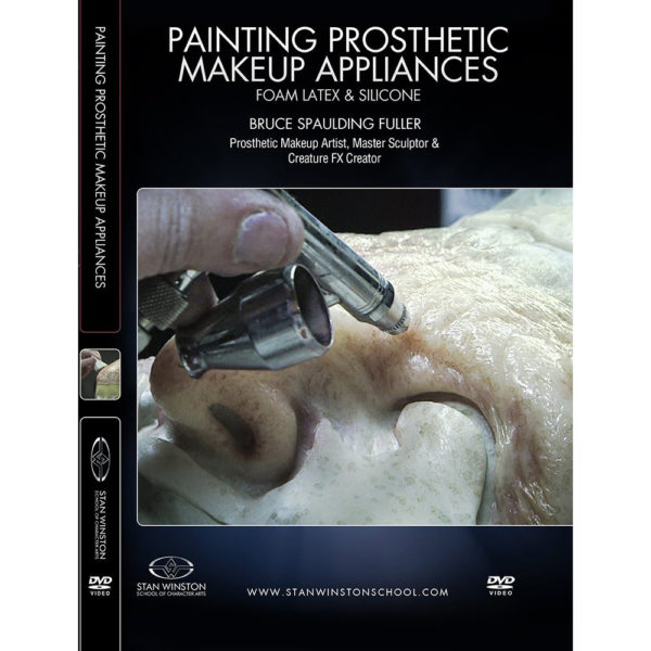 Stan Winston School DVD – Painting Prosthetic Makeup Appliances – Foam Latex and Silicone – Bruce Spaulding Fuller