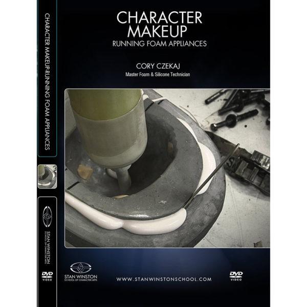 Stan Winston School DVD - How to Run Foam Latex Appliances – Cory Czekaj