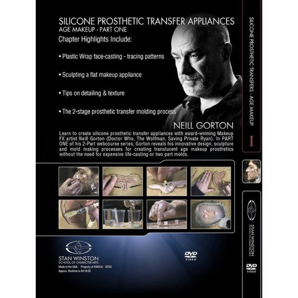 Stan Winston School DVD – Silicone Prosthetic Transfer Appliances: Age Makeup – Part 1 – Neill Gorton