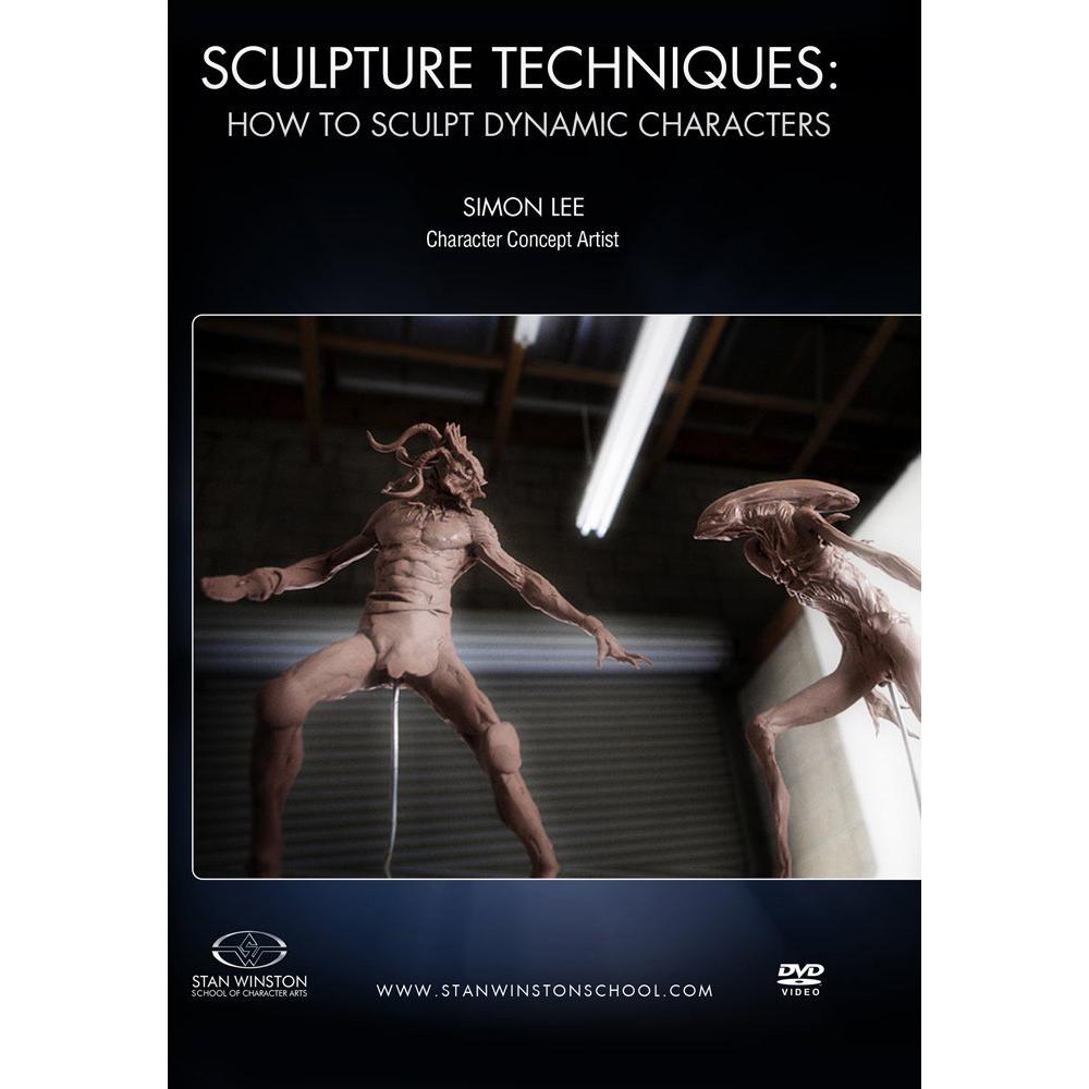 Stan Winston School DVD – Sculpture Techniques – How to Sculpt Dynamic Characters – Simon Lee
