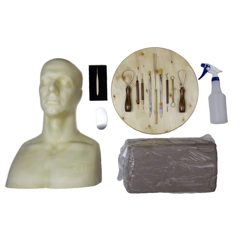 Mask making kit tim martin s how to make a latex rubber