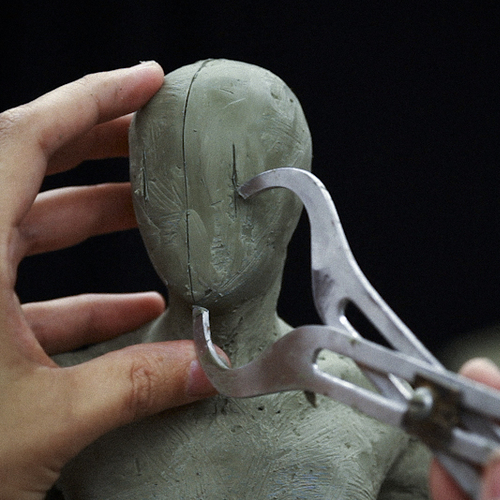 "Stan Winston - Alfred Paredes ""Figure Sculpture for Characters - Sculpting with a Live Model"""