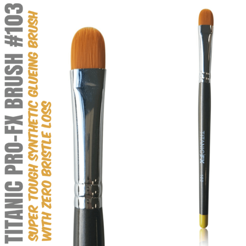 Titanic Pro-FX Brush 103 Medium Filbert Brush